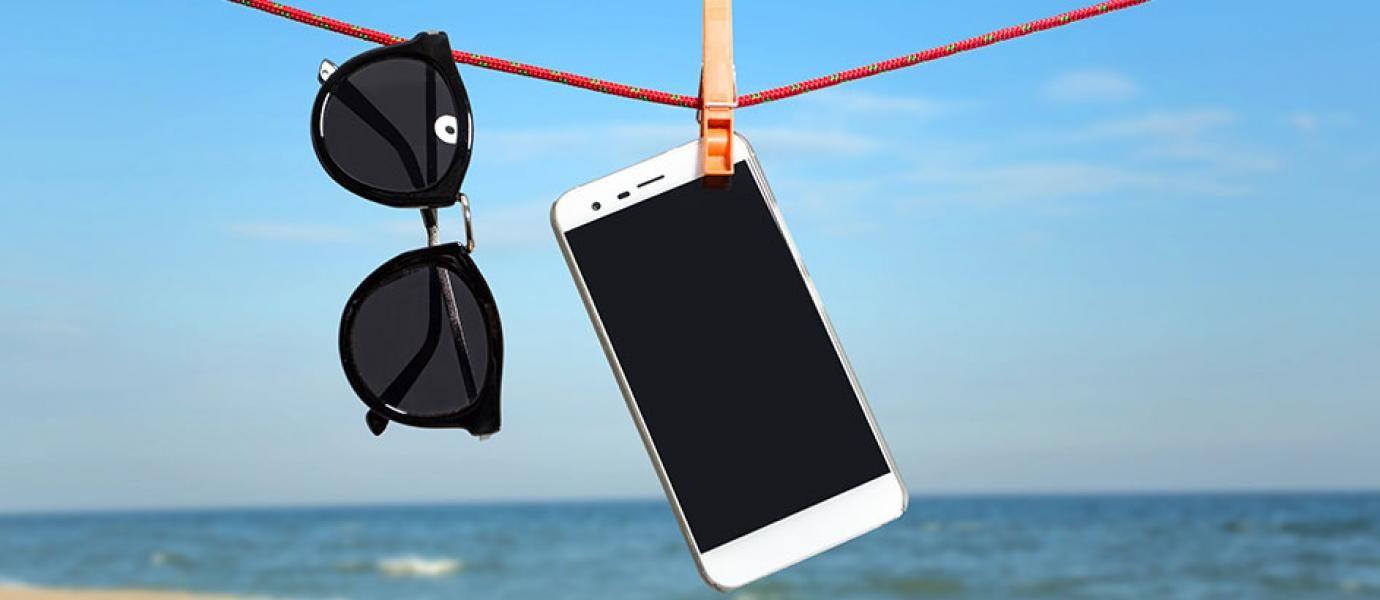 Smartphone basah